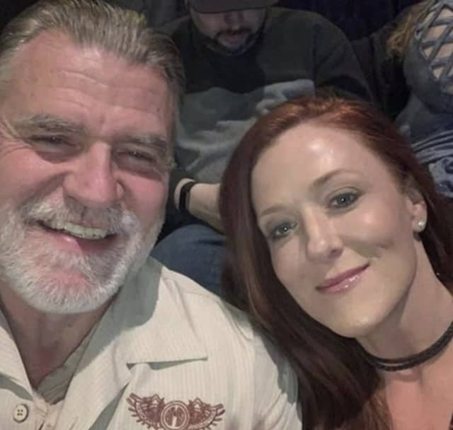 Teurk has been indicted in connection to the murder his wife McClean, both of whom are pictured in this undated photo.