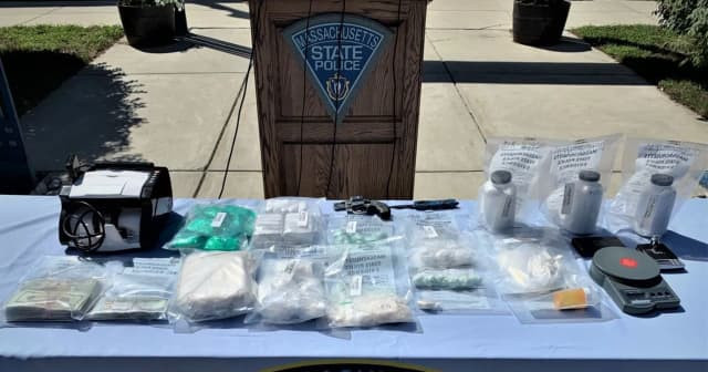 "Over 48 hours police seized a mountain of drugs and arrested two ""high-volume"" drug dealers in a string of busts expected to help bring down the region's illegal narcotics network."
