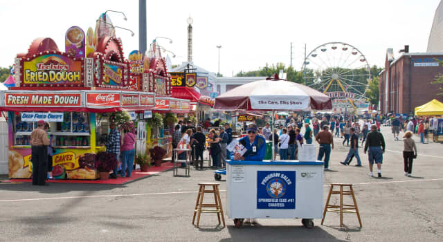 The Big E will be a drive-thru this year. This photo is from the agricultural fair in 2017. The Big E typically draws millions of people to the West Springfield fairgrounds each year. Due to COVID-19 2020 will not look like this at all.
