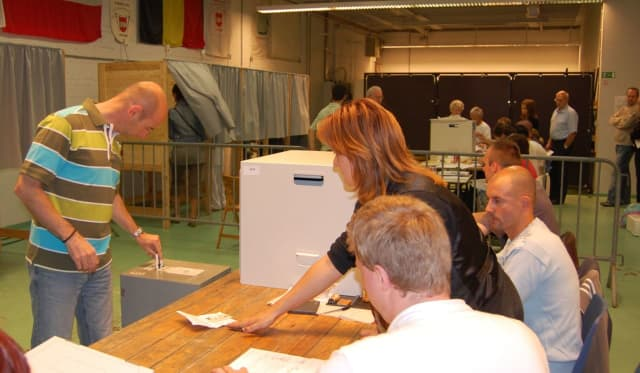 Voting, election