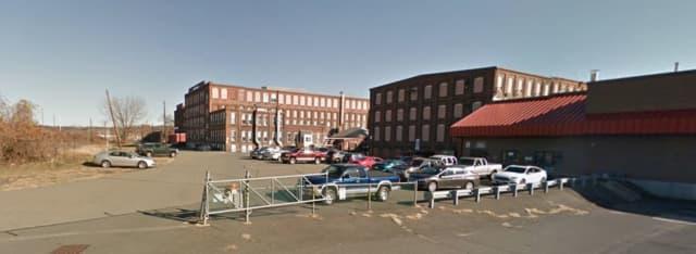 Holyoke factory on Water Street