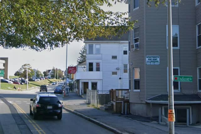 Endicott at Vernon street in Worcester, the area where a man allegedly tried to kidnap a girl on Oct. 18,