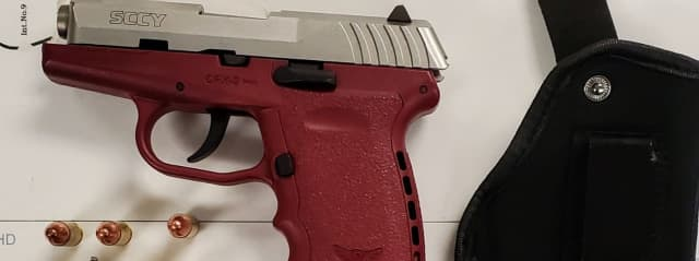Weapon confiscated by MSP on Nov. 2