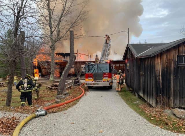Jacob's Pillow fire, Nov. 17