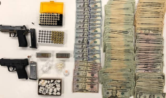 Drugs, guns, and cash confiscated by Hartford Police sometime around Nov. 23