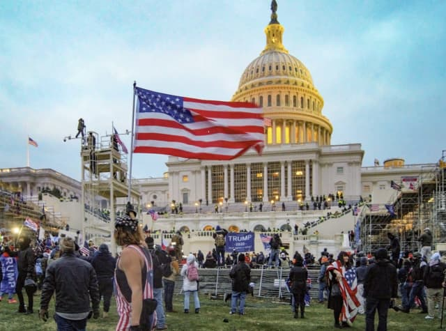 Capitol Building invasion on Jan. 6