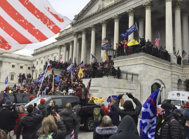 Capitol Building invaded Jan. 6, 2021