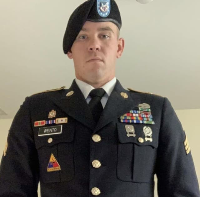 Staff Sergeant James Lynch Wento of the U.S. Army