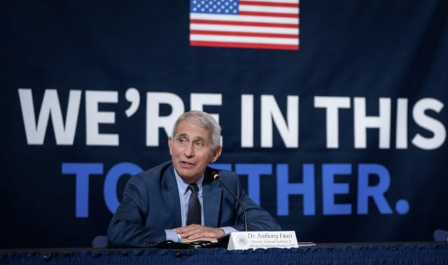 Dr. Anthony Fauci, President Biden's chief medical advisor, weighed in on a fourth COVID-19 wave of infecitons.