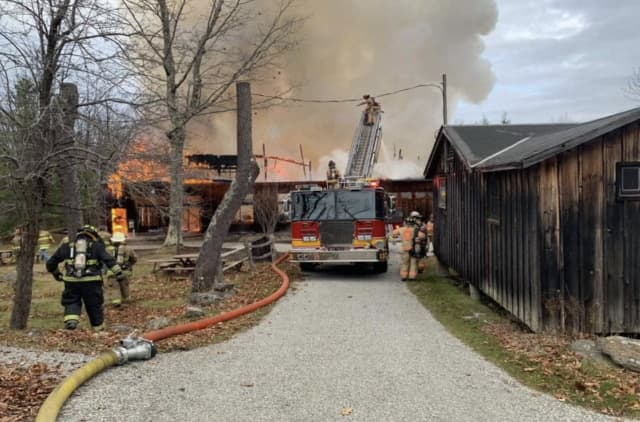 November 2020 fire at Jacob's Pillow in Becket