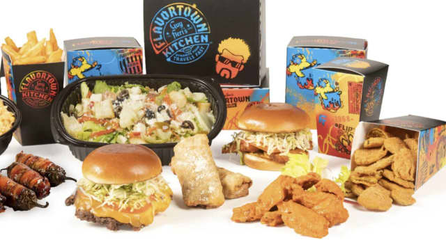 Guy Fieri has opened a delivery-only restaurant in upstate New York.