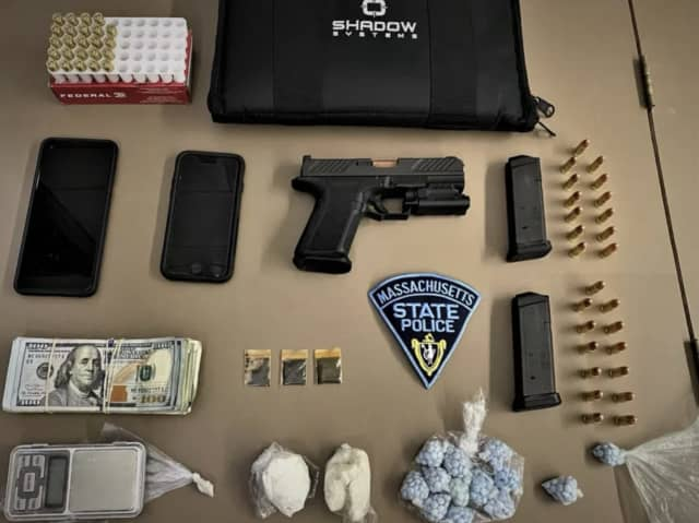 Items allegedly seized during a Springfield bust on March 1