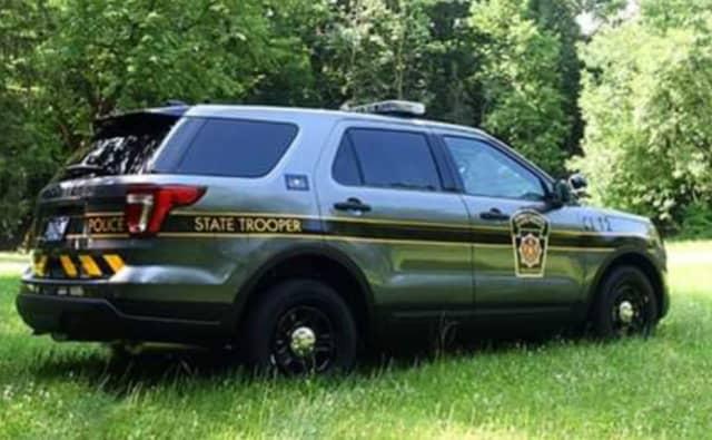 Pennsylvania state police vehicle.