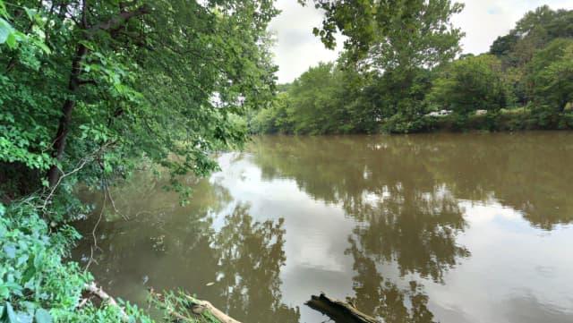 Conestoga River near South Duke Street, Lancaster.