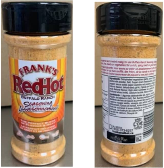 McCormick said customers should dispose of the recalled products and their containers and contact McCormick Consumer Affairs for a replacement or a refund.