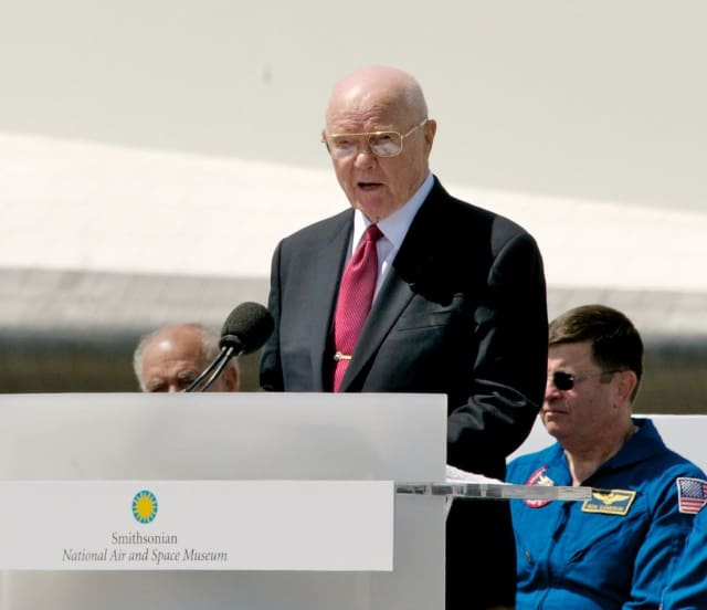 Astronaut John Glenn died on Thursday at the age of 95.
