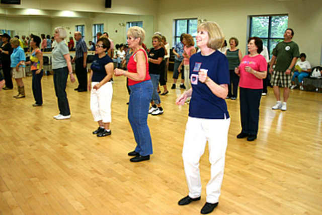 Line dancing will be one of the many types of dancing on offer at a Richard A. Nest Senior Citizens Center dinner dance in mid-April.