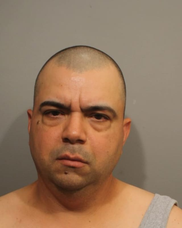 Francisco Serrano is accused of attacking a coworker at an auto dealership in Wilton, according to police.