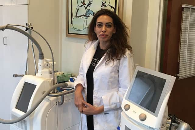 Sharrona Katz-Moulay is the head esthetician at Aesthetics by Norden in Ridgewood.