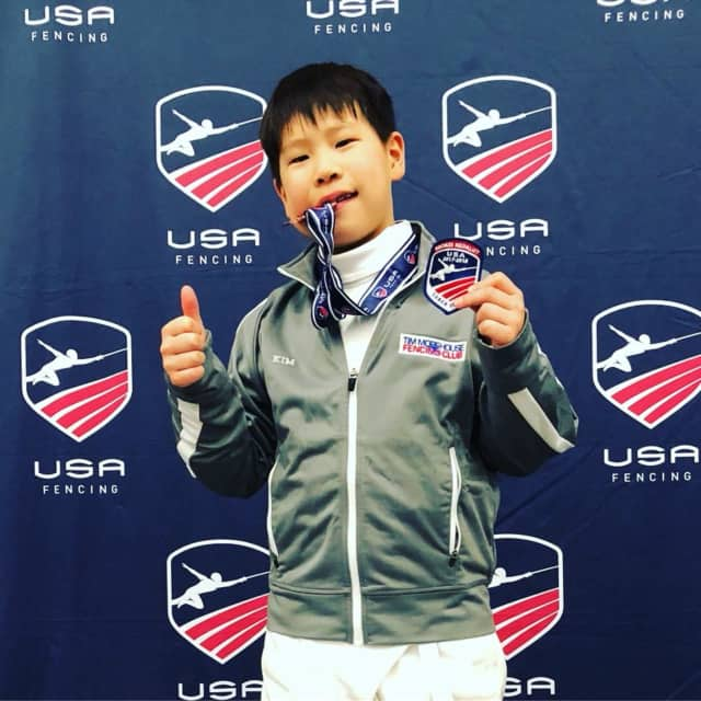 Shaun Kim of Greenwich is headed to Wroclaw, Poland to compete in his first international fencing competition.