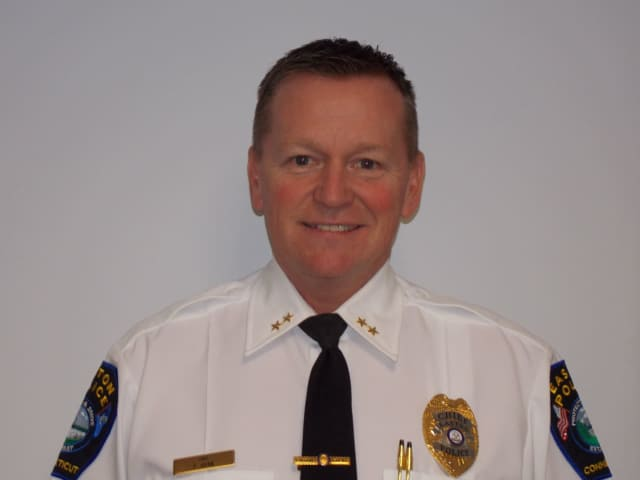 Easton Police Chief Timothy Shaw