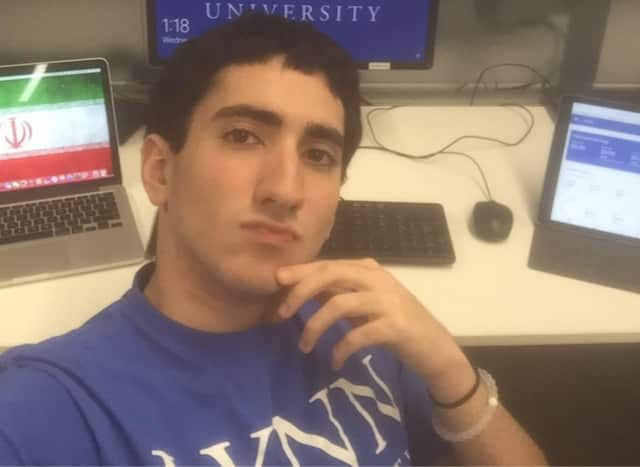 Shayan Mortazavi, 18, of Franklin Lakes, was a freshman at Lynn University in Florida.