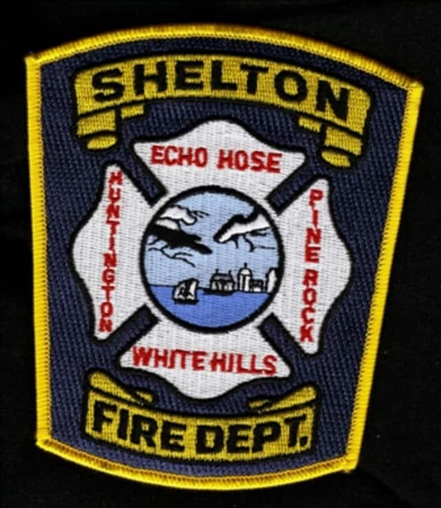 Shelton Firefighters doused a blaze in a condo on Monday morning.