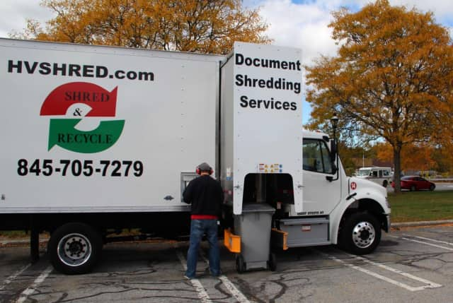 A paper-shredding truck will be on site at Rey Insurance Agency