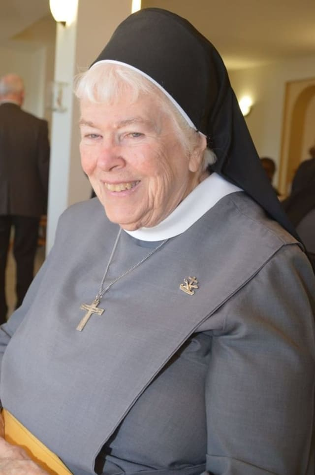 Sister Antonia Maguire Of Franciscan Sisters In Peekskill.