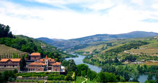 A panoramic view of Six Senses Douro Valley. Courtesy Six Senses.