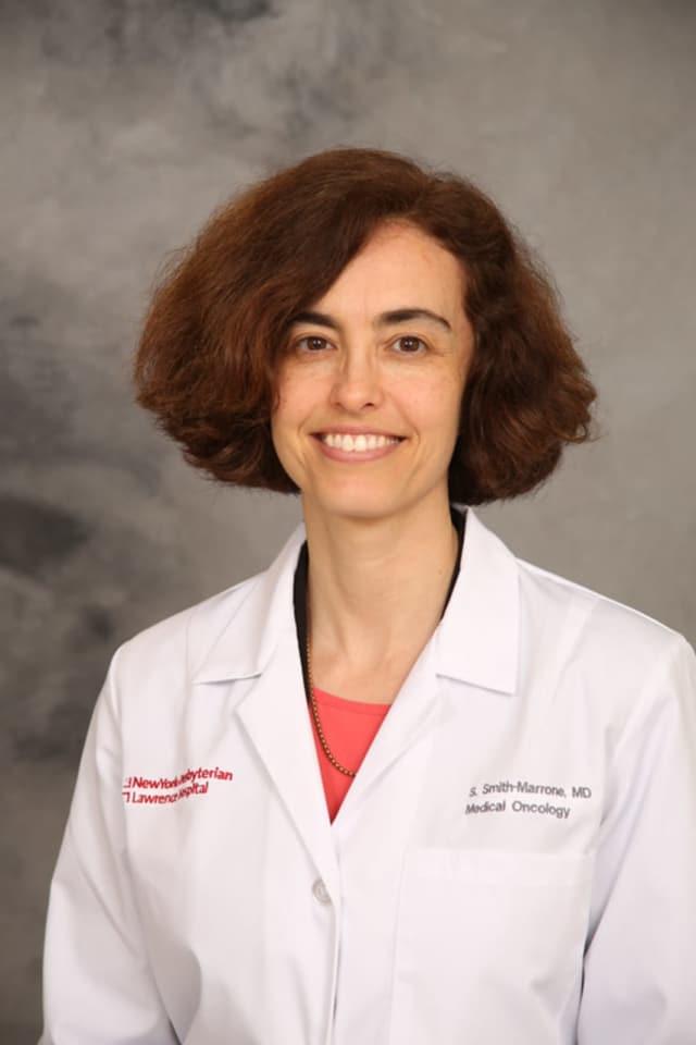 NewYork-Presbyterian Lawrence Hospital Cancer Center's Dr. Stephanie Smith-Marrone.
