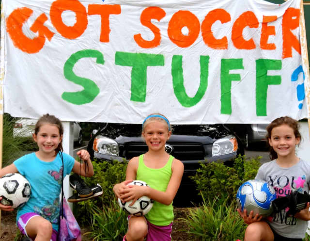 The River Vale and Hillsdale Soccer Associations want your used equipment.