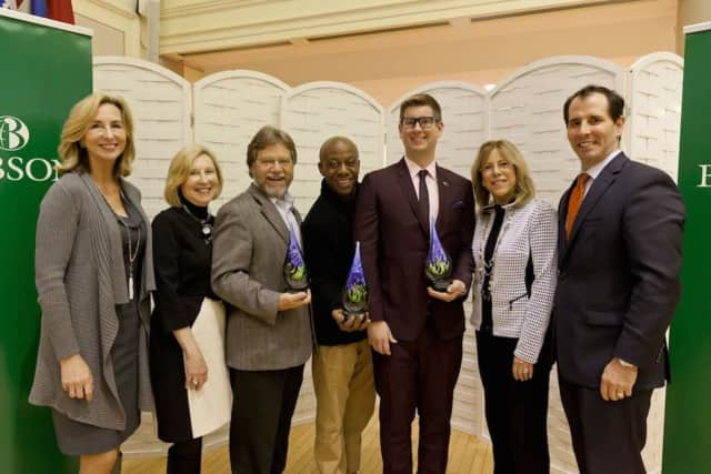 Greyston's founder Bernie Glassman was awarded the Social Innovator Award by the Lewis Institute at Babson College.
