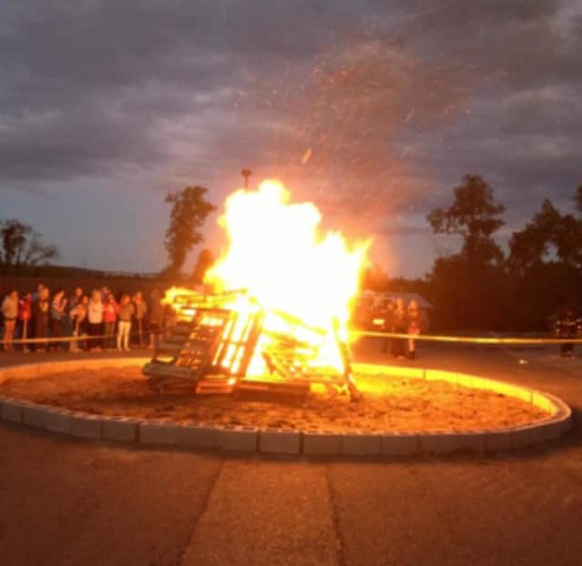 Somers' third annual townwide bonfire will be lit Sunday night at Somers High School.