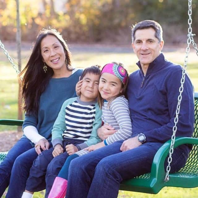 Erica Song and family live a fun and vibrant life echoing her work as a doctor at Vibrant Life Medicine.