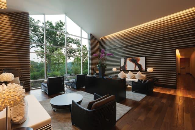 Sankara Spa's Relaxation Lounge. Courtesy the Castle Hotel & Spa.