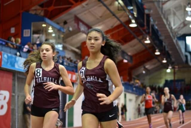 Valhalla High School's indoor track team smashed many personal bests and school records at the indoor Track League Championships.