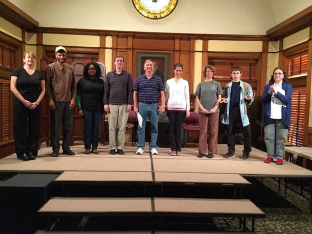 Actors from the SquareWrights Playwright Group will read works by local playwrights Saturday, March 25 at the Stratford Library. Admission is a food donation for the Stratford Community Center Food Pantry.