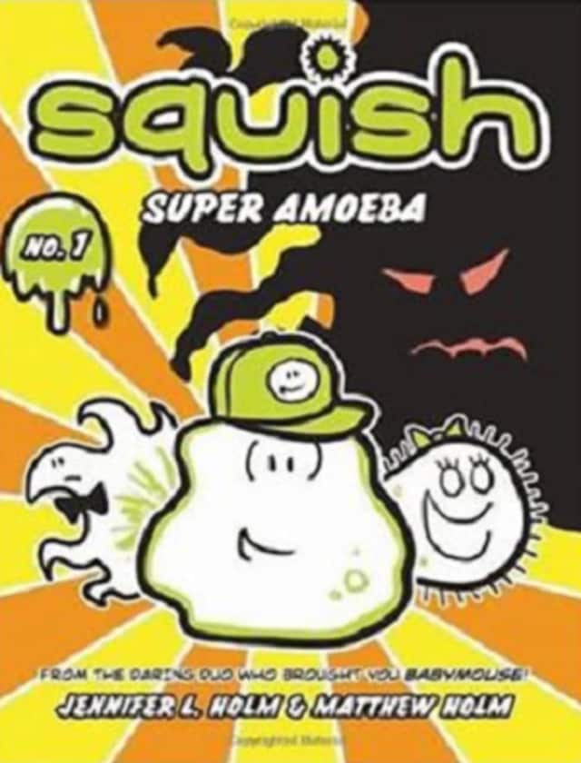Read about Squish, the super amoeba, at Mount Vernon Library's Comix Club.