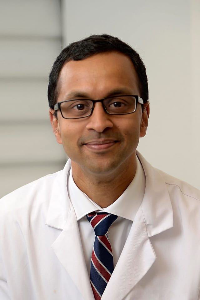 Sravisht Iyer, spine surgeon at HSS Westchester