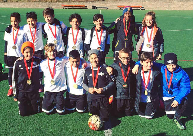 Connecticut's No. 2 team: Stamford Youth Soccer League's (SYSL) Stamford FC U12 Boys Premier beat teams from New York and Connecticut in the Manhattan Soccer Kick-Off Classic 2017 March 3-5.