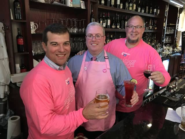 State Rep. Steve Stafstrom, City Council President Tom McCarthy and Trumbull Planning & Zoning Chair Fred Garrity, Jr. will be guest bartenders Oct. 11.