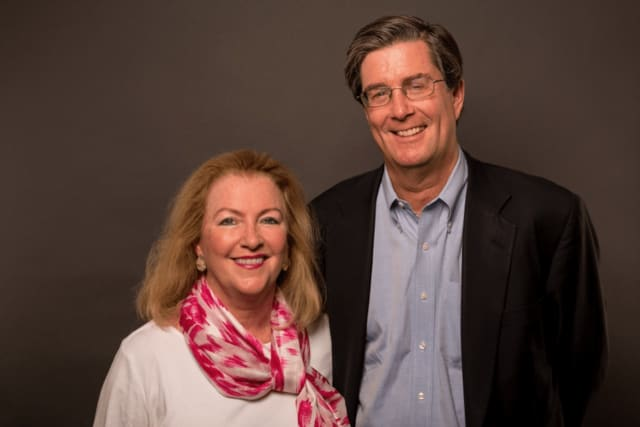 New Canaan residents Eleanor Meredith and Steve Monroe