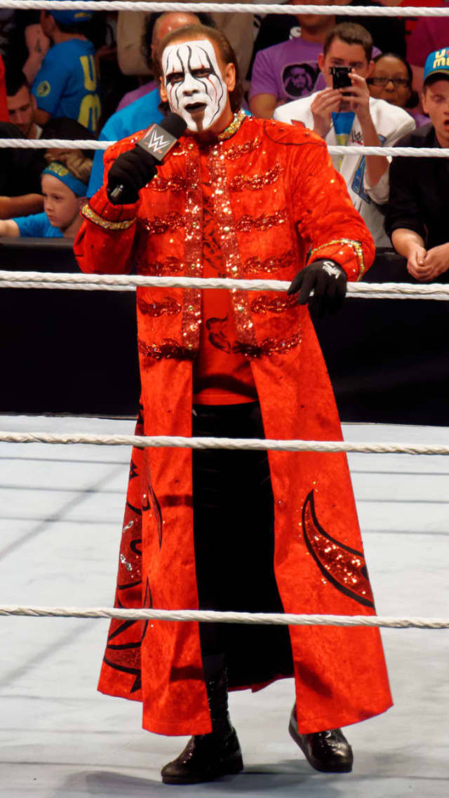 World Wrestling Entertainment Hall of Fame inductee Sting will appear at Westwood High School on Saturday.