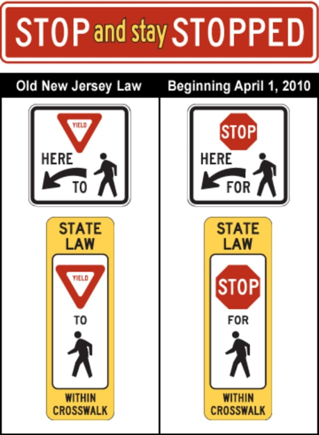 Bloomfield police are enforcing a law requiring drivers to yield to pedestrians in the crosswalk.