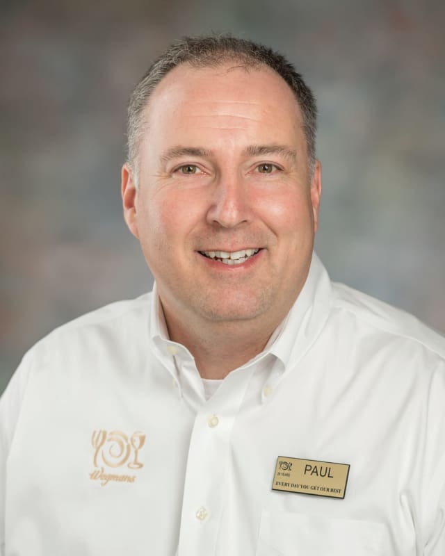 Paul Jordan, the store manager of Wegmans' new Montvale store.
