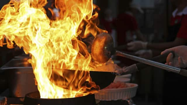 Trumbull volunteer firefighters are warning residents about the dangers of holiday cooking fires.