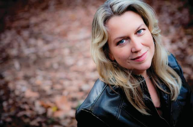 """Author Cheryl Strayed will join the Darien Library for """"Novel Tea"""" at Wee Burn Country Club on March 30."""