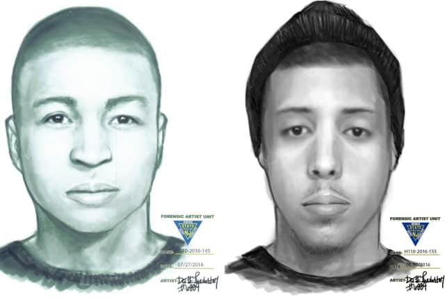 Suspects sketched.