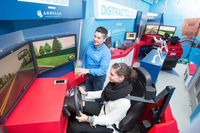 The Distractology tour will visit Trinity Catholic High School May 2-6 to teach teen drivers the dangers of distracted driving.